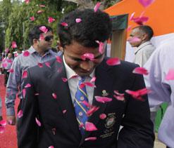 Olypmic medallist Vijay Kumar gets rousing welcome