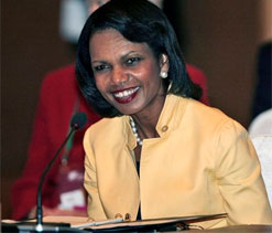 Condoleezza Rice makes it into all men golf club