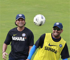 Indians undergo strenuous net session