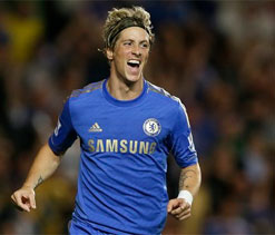 EPL 2012: Chelsea come from behind to defeat Reading 4-2 at home