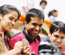 Indian sports is looking up: Gopichand