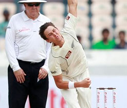 Boult praises Indian youngsters for good, patient batting