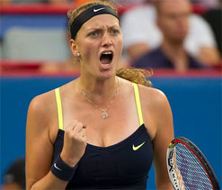 Kvitova rises to fifth in world rankings