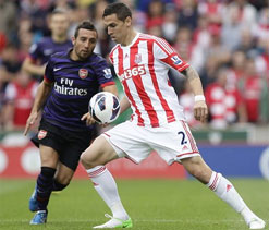 EPL 2012: Arsenal play out goalless draw against Stoke