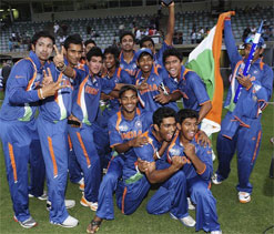 Twitter abuzz with congratulatory message for India U-19 squad