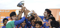 U-19 World Cup Final: Unmukt Chand slams ton, India defeat Australia by 6 wickets