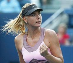 Sharapova, Stosur progress to 2nd round at US Open
