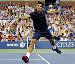 US Open 2012: Federer, Murray in second round