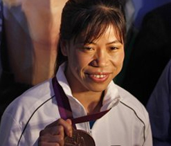 Road named after Olympic boxer MC Mary Kom