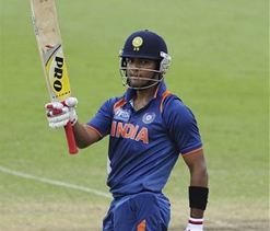 I am very happy, says Unmukt Chand on arrival