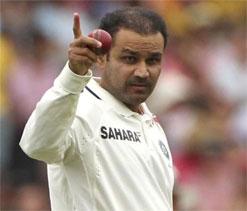Sehwag feels nervous when facing first ball