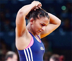 I have opened doors for other women wrestlers: Geeta Phogat