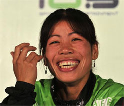 Foreign coach would benefit women boxers: Mary Kom