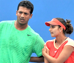 Sania, Mahesh Bhupathi split as pair