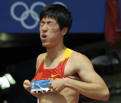 Olympics 2012 athletics: Coach worried about Liu Xiang`s foot injury