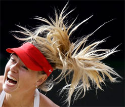 Olympic tennis: Sharapova in women`s singles final