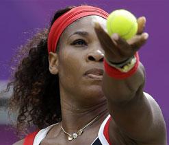 London Olympic tennis: Serena Williams beats Zvonareva