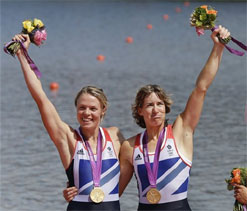 Olympic rowing: Britain storms to women`s sculls gold