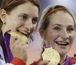 Olympics 2012 cycling: Germany takes women`s sprint gold after China demoted