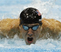 London Olympics 2012 swimming: Michael Phelps creates another record