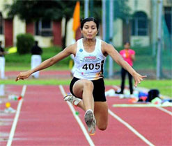 Triple jumper Mayookha out of Olympics