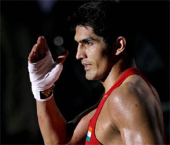 Olympics Boxing: Vijender Singh one win away from medal