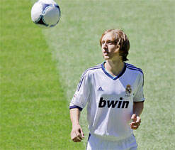 Modric thanks Spurs for Real Madrid chance