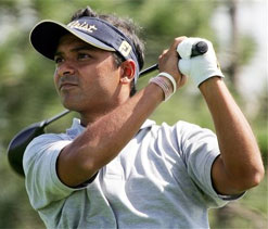 Gangjee shoots four-under 67, lies 12th in Mylan Classic