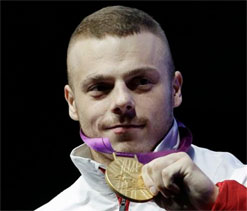 London Olympics Weightlifting: Zielinski lifts Poland`s first gold
