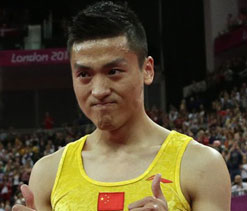 Olympics 2012 gymnastics: Gold for Dong Dong in trampoline