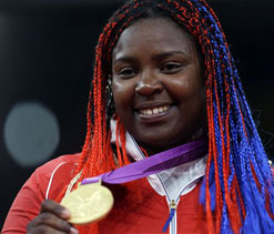 Olympics 2012 judo: Cuba`s Ortiz wins gold