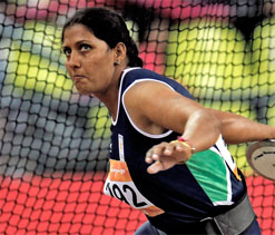 Olympics discus throw: Krishna Poonia qualifies for final with throw of 63.54m