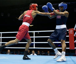 Olympics boxing: Vikas Krishan enters quarterfinals