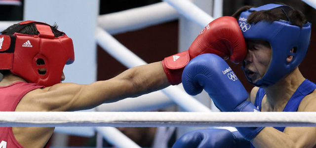 Olympics Boxing: Devendro Singh storms into quarterfinals