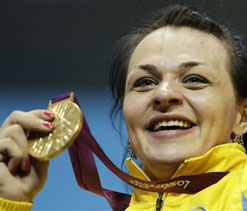 Olympics 2012 weightlifting: Podobedova lifts Kazakhstan to gold