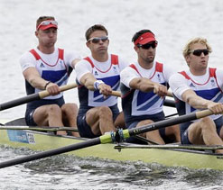 London Olympic 2012 rowing: Britain retain men`s four crown