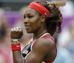Olympic tennis 2012: Williams sets up final with Sharapova