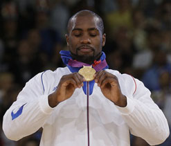 London Olympics judo: France`s Riner wins gold