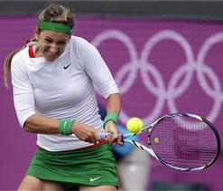 London olympics: Azarenka takes tennis bronze for Belarus