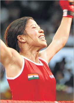 Olympics 2012: Magnificent Mary` takes to ring in women`s boxing`s Oly debut