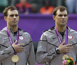 London Olympics tennis: Bryan twins win gold for US