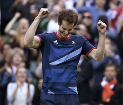 2012 London Olympics: Rejuvenated Andy Murray dispatches Federer to win gold
