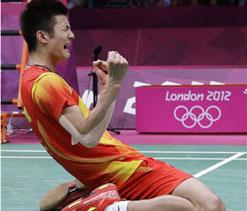 London Olympics: China`s Chen takes badminton bronze