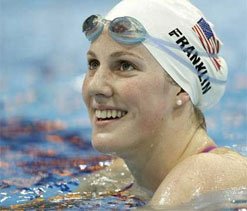 London Olympics 2012 Swimming: Franklin wins women`s 200m backstroke with record
