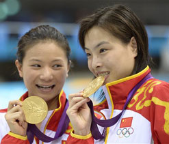 London Olympics diving: Chinese divers eye 1-2 finish in women`s springboard