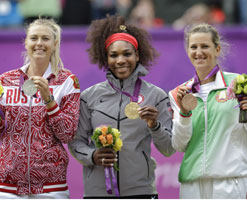 Olympics 2012 tennis: US flag blows away at ceremony