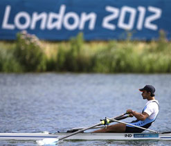 London Olympics: `Indian rowers performed beyond expectations at Olympics`