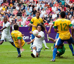 London Olympics football: Brazil captain Silva wary of South Korea