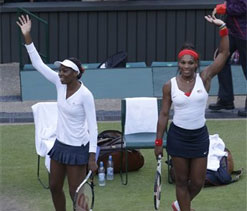 Olympic tennis: Williams sisters win doubles gold