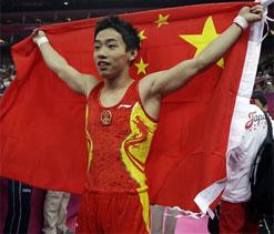 Olympic gymnastics: China`s Zou Kai retains gold